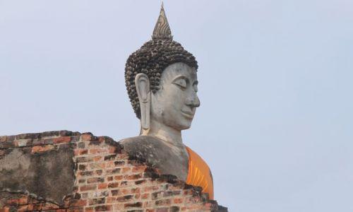 Zdjęcie TAJLANDIA / Okolice Bangkoku /  Phra Nakhon Si Ayutthaya / Święty