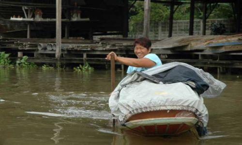 Zdjecie TAJLANDIA / Tajlandia / Stary Bangkok / Usmiech Bangkok