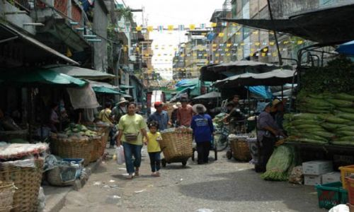 Zdjecie TAJLANDIA / Tajlandia / Bangkok - China town / Chinska dzielnica w Bangkoku