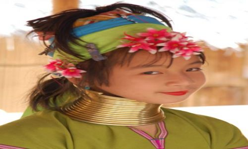 Zdjecie TAJLANDIA / - / Tajlandia (granica z Birmą) / Dziewczyna
