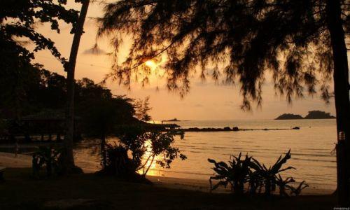 Zdjecie TAJLANDIA / Tajlandia południowa / Wyspa Koh Chang / Koniec upalnego dnia