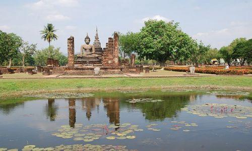 Zdjecie TAJLANDIA / - / Park Historyczny Sukhothai / ...