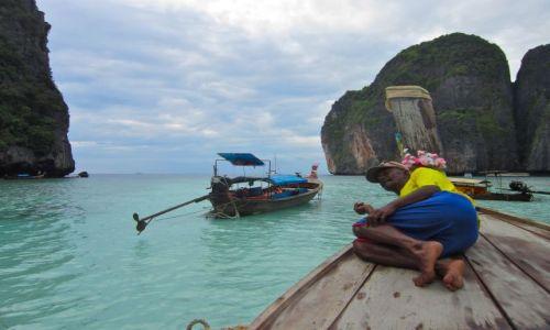 Zdjęcie TAJLANDIA / Ko phi phi / Maya Beach / break time