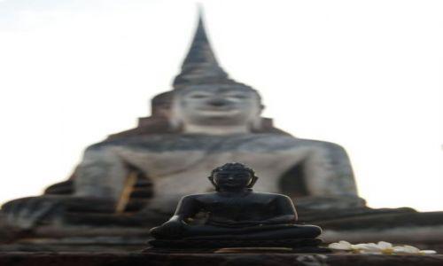 Zdjecie TAJLANDIA / Sukhotai / Sukhotai / Budda, Budda, Budda