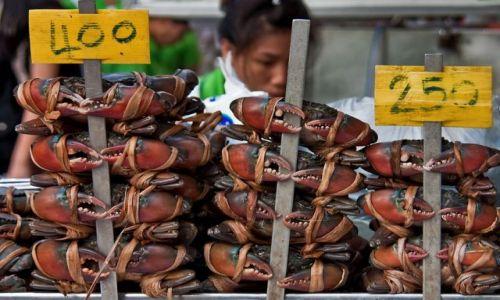 Zdjecie TAJLANDIA / - / Bangkok / na straganie
