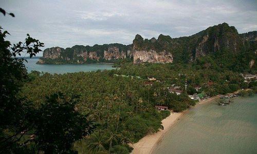 Zdjecie TAJLANDIA / Krabi / Ao Nang / Z widokiem na zatoki