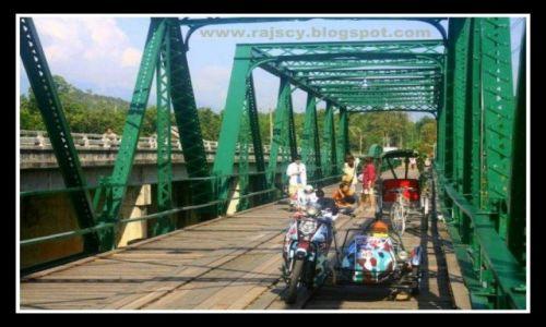 TAJLANDIA / - / Pai / Most z Drugiej Wojny Światowej