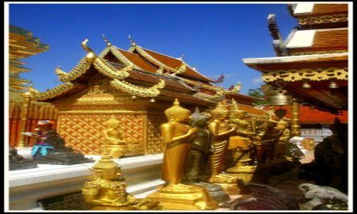 Zdjecie TAJLANDIA / Chiang Mai / Chiang Mai / Wat Phra That Doi Suthep
