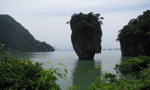 Zdjecie TAJLANDIA / Morze Andamańskie / zatoka Phang Nga / GWÓŹDŹ