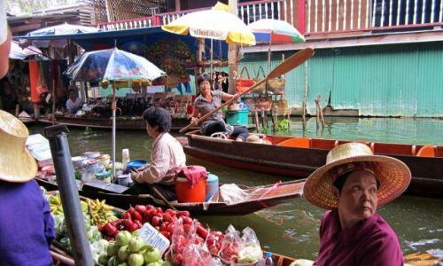 Zdjecie TAJLANDIA / - / Kanchanaburi / Floating Market