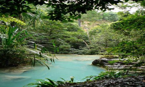 Zdjęcie TAJLANDIA / - / Kanchanaburi / Erwan waterfall