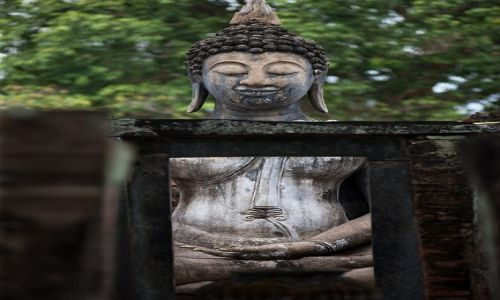 Zdjecie TAJLANDIA / Tajlandia polnocna / Sukothai / w Sukothai