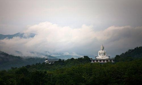 Zdjecie TAJLANDIA / Tajlandia polnocna / niedaleko miejscowosci Tak / wielki Budda