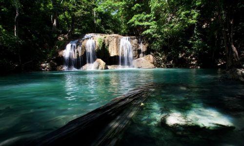 Zdjecie TAJLANDIA / Kanchanburi / Rawan Falls / Wodospady Erawan