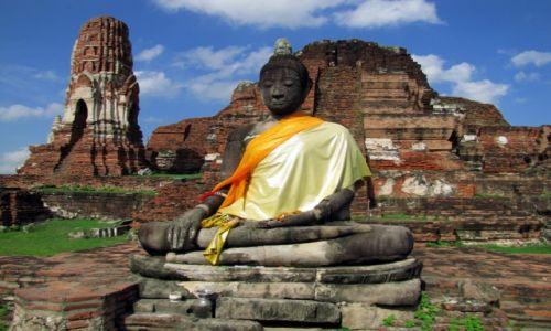 Zdjęcie TAJLANDIA / Thailand / Ayutthaya / Budda