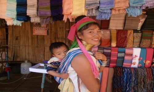 Zdjecie TAJLANDIA / połnocna tajlandia / ... / plemie padaung