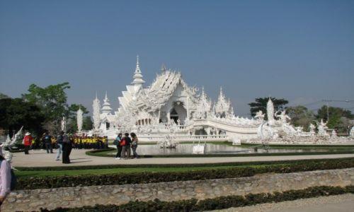 Zdjecie TAJLANDIA / Północna Tajlnadia / Chiangrai / Biała Świątynia