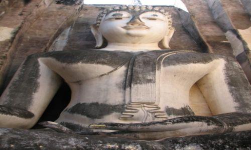 Zdjecie TAJLANDIA / �rodkowa Tajlnadia / Park Narodowy Sukhothai / Budda