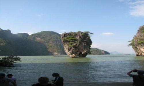 Zdjecie TAJLANDIA / Phuket / Zatoka Phang Nga / Wyspa Bonda