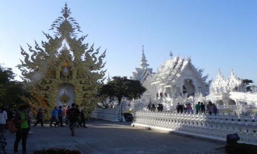 Zdjecie TAJLANDIA / chiang rai / ... / biała świątynia