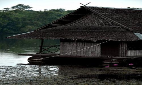 Zdjęcie TAJLANDIA / Nizinia Menamu / Kanchanaburi / Domek an wodzie
