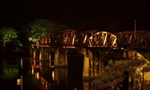 Zdjecie TAJLANDIA / Nizinia Menamu  / Kanchanaburi / Most na rzece Kwai