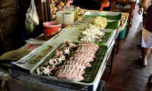 Zdjecie TAJLANDIA / Mae Klong  / Amphawa / Wodne smakołyki