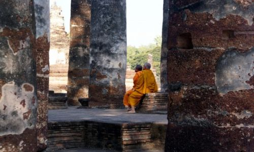 Zdjecie TAJLANDIA / Tailandia / Sukhothai / zaduma