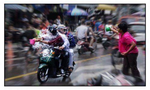 Zdjecie TAJLANDIA / Hua Hin / Hua Hin / Songkran