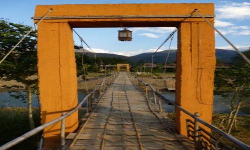 Zdjecie TAJLANDIA / północ / PAI / Most nad rzeką Pai