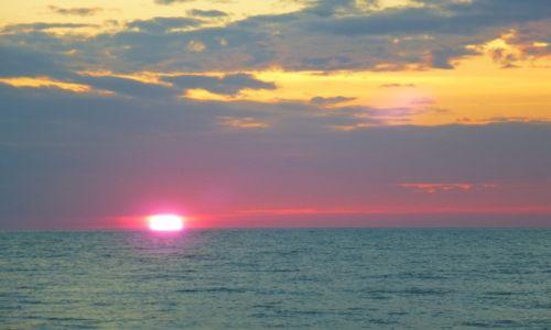Zdjęcie TAJLANDIA / południowy / zatoka tajlandzka / pastelowy zachód słońca