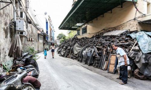 TAJLANDIA / Bangkok / China Town / Życie na ulicy