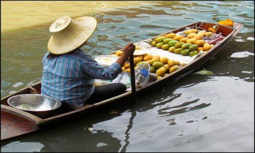 Zdjęcie TAJLANDIA / Kanchanaburi / Damnoen Saduak / Damnoen Saduak 2