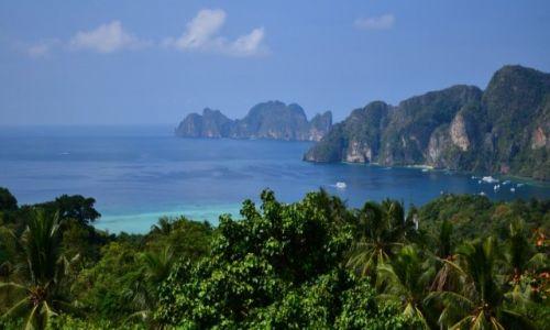 Zdjęcie TAJLANDIA / południowa Tajlandia, zachodnie wybrzeże morza Andamańskiego, prowincja Krabi  / Koh Phi Phi / paradise island