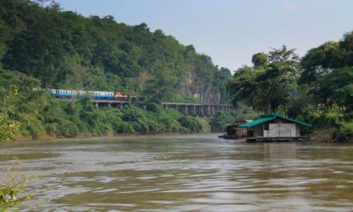 Zdjecie TAJLANDIA / Kanchanaburi / Kanchanaburi / trasa kolei śmierci