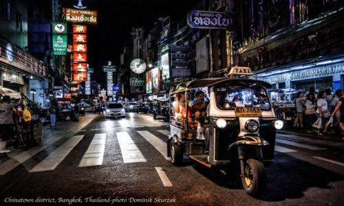 Zdjecie TAJLANDIA / Bangkok / Bangkok / Chinatown-Bangkok