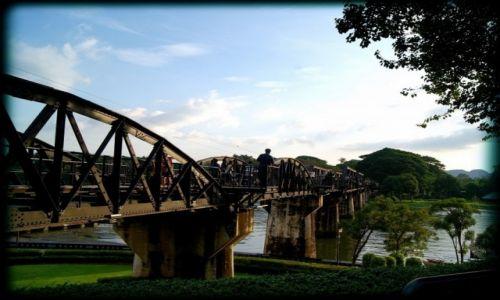 Zdjecie TAJLANDIA / - / Kanchanaburi / Most na rzece Kwai