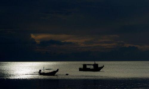 Zdjecie TAJLANDIA / Koh Phangan / Koh Phangan / O wschodzie słońca