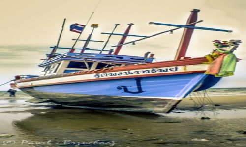 Zdjecie TAJLANDIA / Pattya / beach / boat