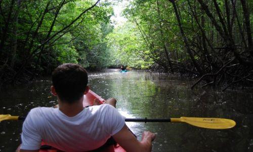 Zdjecie TAJLANDIA / Krabi , 1godz drogi od AoNang / Ao Thalane / Kayaking