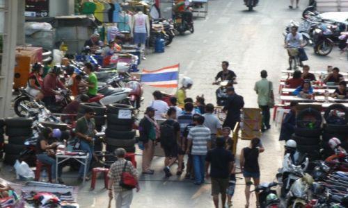 TAJLANDIA / Bangkok / Bangkok / Manifestacje w Bangkoku