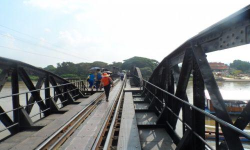 Zdjęcie TAJLANDIA / Kanczanaburi / słynnymost na rzece Kwai / Most na rzece Kwai
