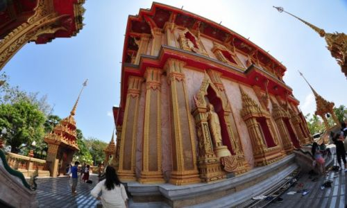 TAJLANDIA / Phuket / Świątynia Wat Chalong / Świątynia Wat Chalong