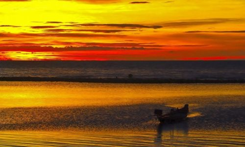 Zdjecie TAJLANDIA / Koh Phangan / Koh Phangan / Zachód słońca-Koh Phangan