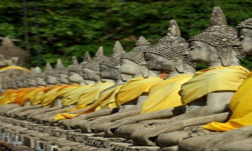 Zdjęcie TAJLANDIA / - / Ajutthaja / Budda:)