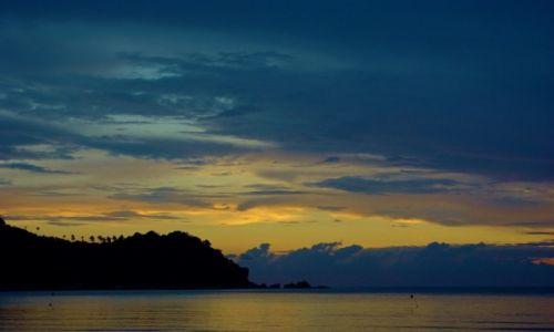 TAJLANDIA / Północny-wschód wyspy. / Koh Phangan / Wschód słońca-Kon Phangan