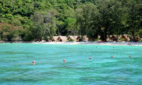 TAJLANDIA / Phuket / Coral Island Resort / dopływając do bajecznej wyspy