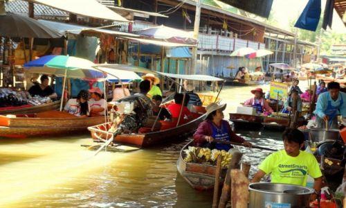 Zdjęcie TAJLANDIA / - / Damnoen Saduak / Targ wodny