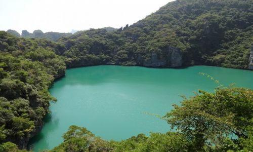 TAJLANDIA / Koh Samui / Ang Thong National Park / Ang Tong Laguna