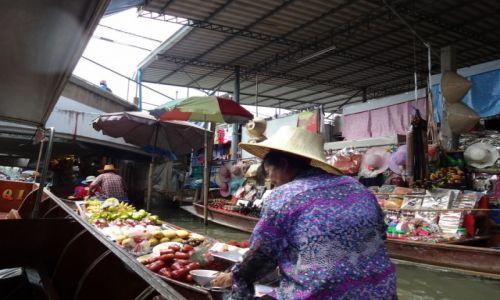 TAJLANDIA / Bangkok / Dumnoen Saduak / floating market
